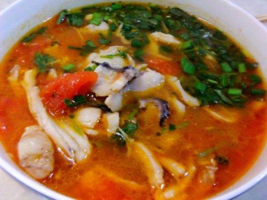 西红柿鱼片汤的家常做法_西红柿鱼片汤的做法大全