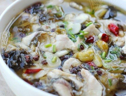 酸菜鱼的家常做法_酸菜鱼的做法大全-煲汤食谱网