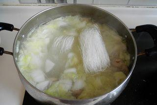 羊排白菜家常汤的白菜版面_菜谱粉丝做法汤的羊排粉丝图片