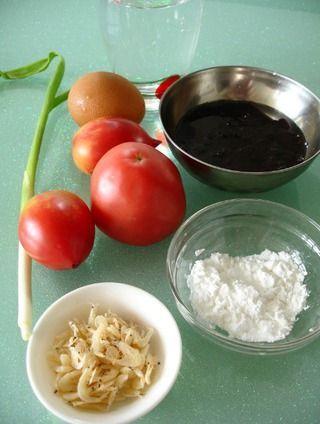 番茄蛋花汤的做法图解步骤
