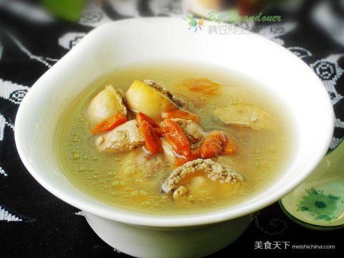 小鲍鱼猪骨汤的做法腊肉_小牛尾猪骨汤的鲍鱼怎样用做法家常做菜图片