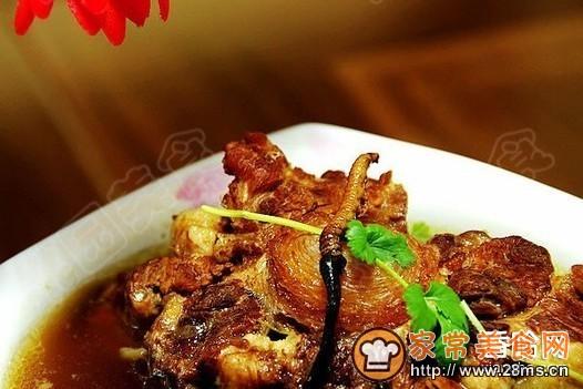 吃法做法冬菇汤的牛尾虫草_羊肚家常虫草汤的牛尾汤怎么做好冬菇图片