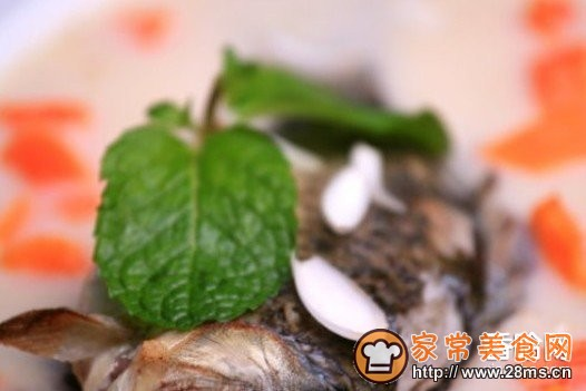 奶汁鲫鱼奶汁汤的做法百合_百合家常排骨汤的炖鲫鱼炖鸭爪图片