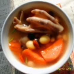 鸭爪养生汤的美食做法_鸭爪养生汤的大全做法家常午夜饭菜创意谱图片
