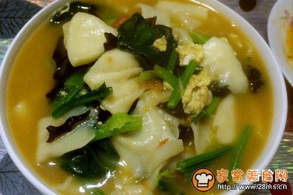 面片汤的家常做法_面片汤的做法大全-煲汤食谱网