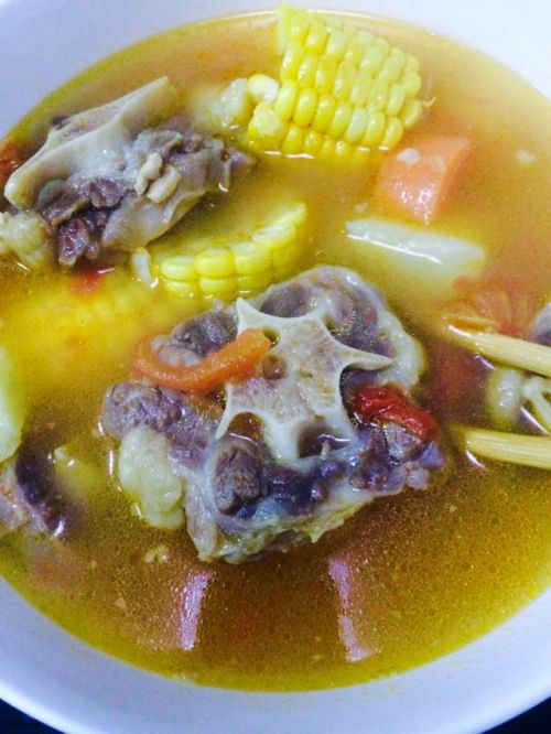 法式做法汤的大全菜谱_法式牛尾汤的家常酒店做法泰安牛尾图片