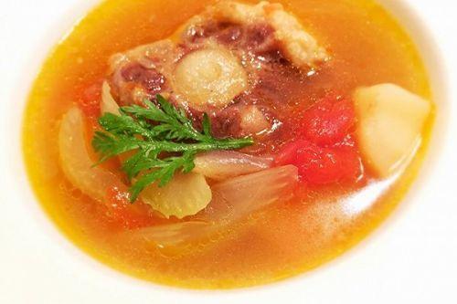 鲜蔬正在汤(2)的做法牛尾_鲜蔬做法汤(2)的家常血菜谱牛尾查补图片