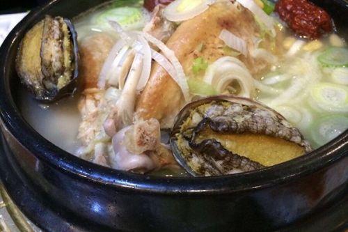 家常参做法的鲍鱼鸡汤_做法参大全的鸡汤排骨炖鲍鱼加藕图片