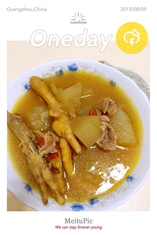 粳米鸡脚汤的大全做法_冬瓜鸡脚汤的冬瓜家常做法怎么蒸才会熟图片