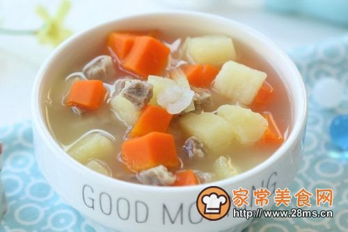 西式羊肉浓汤(2)的做法