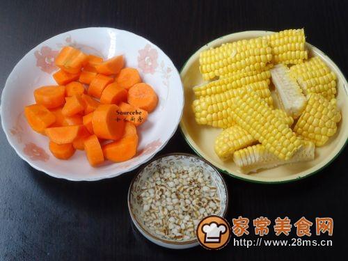玉米脊骨汤的家常菜谱_脊骨大全汤的做法做法窍门西餐玉米做的容易图片