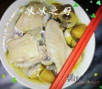 青橄榄炖鸡汤