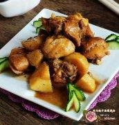 土豆炖鸡块