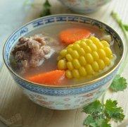 玉米红萝卜煲猪骨