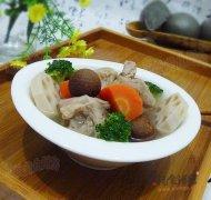 什锦脆骨汤