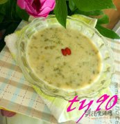 奶香绿豆米粥