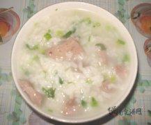 猪肝芹菜瘦肉粥