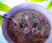 猪肝丝瓜蛋花汤