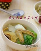 乳鸽青菜汤