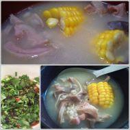 薏米玉米煲猪肚