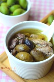 橄榄鸽子汤