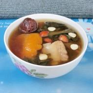 白菜干罗汉果汤
