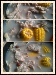 南杏猪肺玉米红萝卜汤
