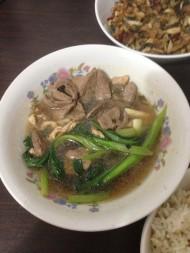 菜心猪肝汤