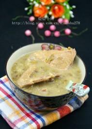 绿豆乳鸽汤