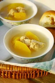 木瓜猪肺汤