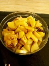 土豆炖鸡腿懒人版