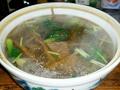 黄花青菜猪肝汤