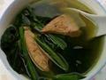 家常鲜汤菠菜猪肝汤