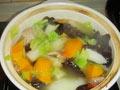 咸肉蔬菜砂锅