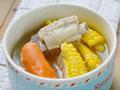 香甜可口排骨玉米汤