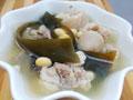海带黄豆猪尾汤