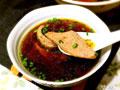 蒜末猪肝汤
