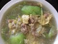 丝瓜瘦肉蛋汤