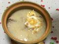 砂锅鲫鱼蛋汤