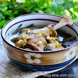 绿豆海带煲鸭汤