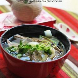 百合猪肝汤