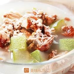 冬瓜薏米鸭架汤