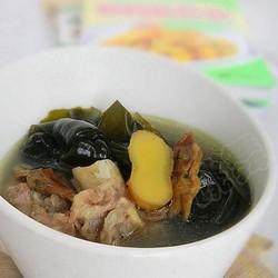 蛏干海带骨头汤