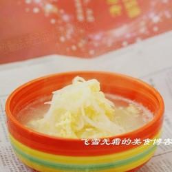 萝卜丝鸡蛋汤