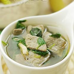 枸杞苗猪肝汤