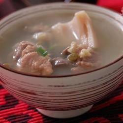 绿豆莲藕排骨汤