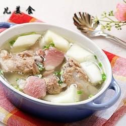 老黄瓜咸肉排骨汤