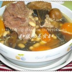 黄豆菜干骨头汤