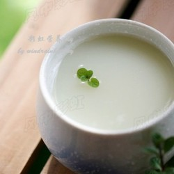 薄荷绿豆汤