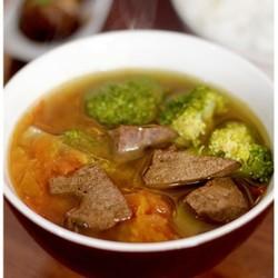 田园猪肝汤